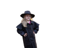 Youth. Kids Outback Australian Riding Coat, Waterproof Oilcloth Duster - The Walkabout Company