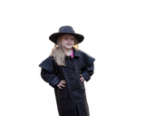 Youth. Kids Outback Australian Riding Coat, Waterproof Oilcloth Duster