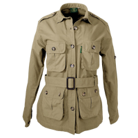 Pro Ladies Safari Jacket 5.5 Oz Cotton Made in Africa - The Walkabout Company