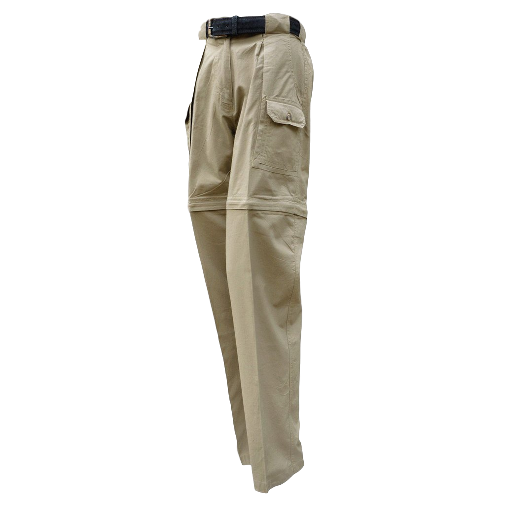 Ladies Safari Pants/Shorts. Zip Off Legs 100% Cotton Pro Series Made in Africa