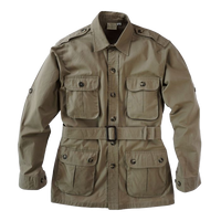 Pro Men's Safari Jacket 5.5 Oz Cotton Made in Africa - The Walkabout Company