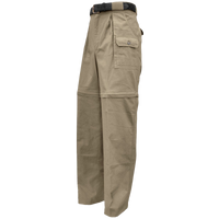 Safari Pants/Shorts. Convertible Zambezi Safari Pants. 100% Cotton Made in Africa - The Walkabout Company