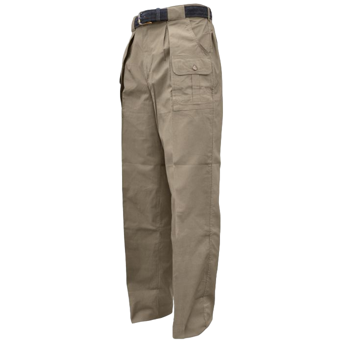 Pro Mens Safari - 6 pocket Congo Pants 100% Cotton 5.5 oz Made in Africa - The Walkabout Company