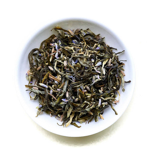 White Lavender - White Tea Infusion with Lavender Blossoms