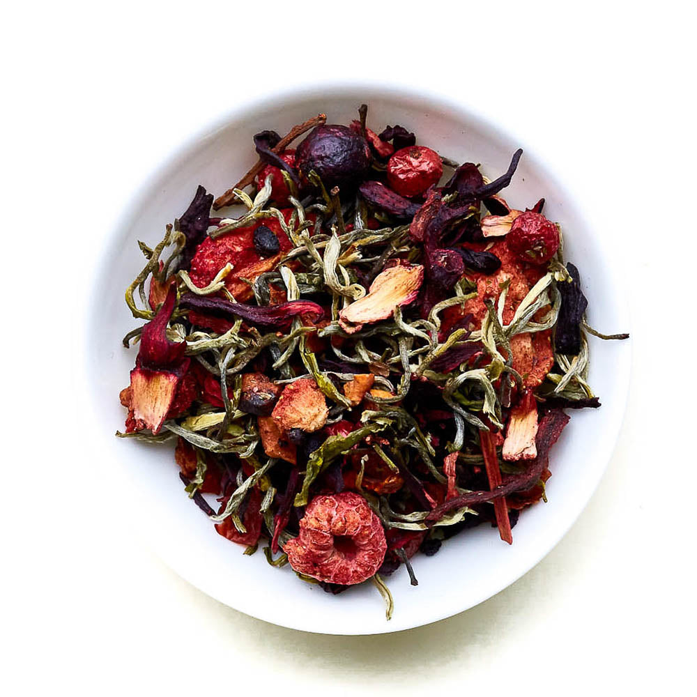 Berry White - Romantic White Tea Blend with Berries | T's TEA