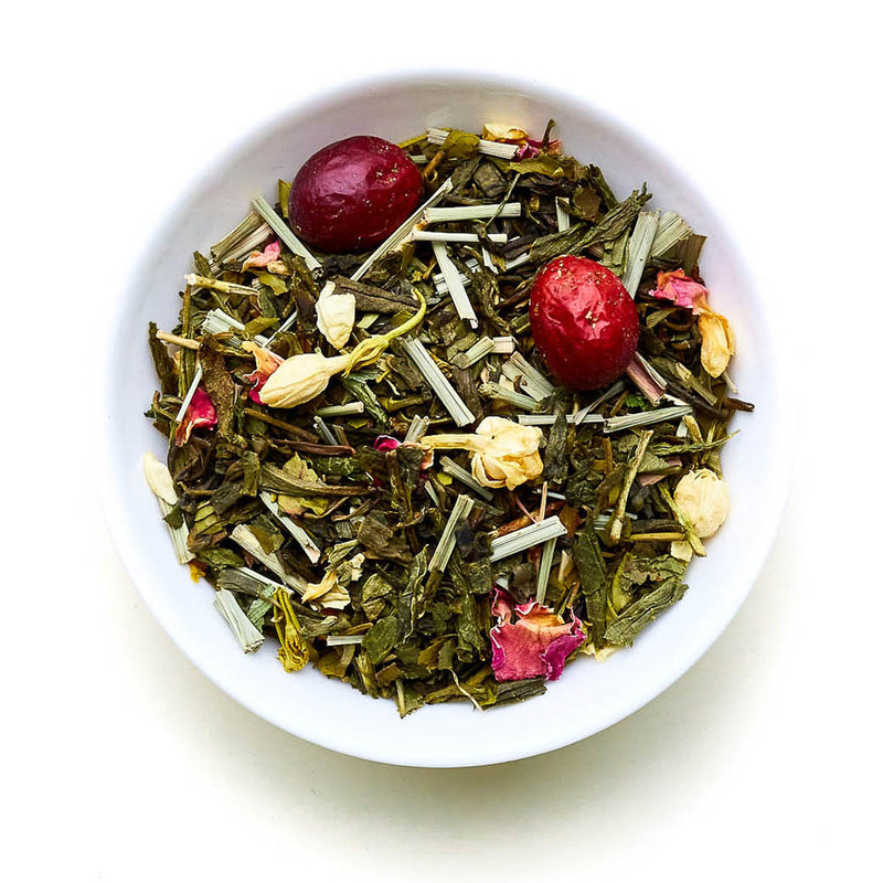 Lychee Lady - Green Tea, lychee, cranberries and lemongrass