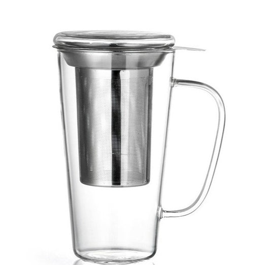 Tea glass Rimini with filter, 500ml