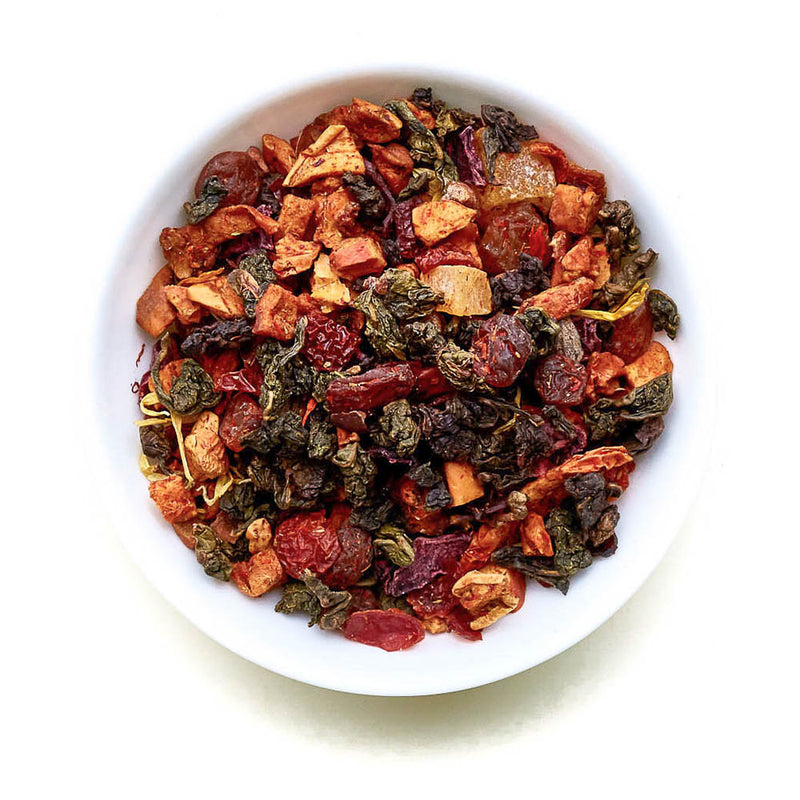 Cherry Choco - Oolong Tea, Cherries & Cacao Blend with Rose