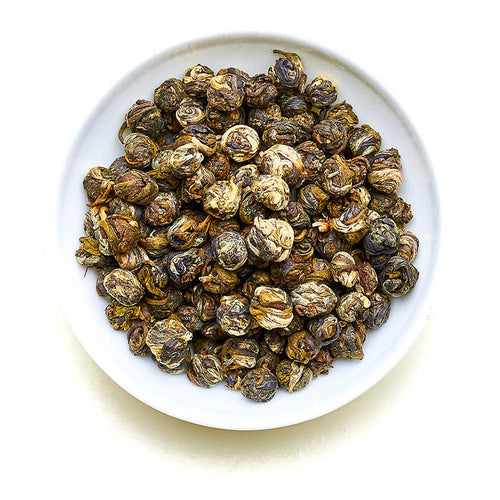 Jasmine Dragon Pearls - Green Tea with Jasmine