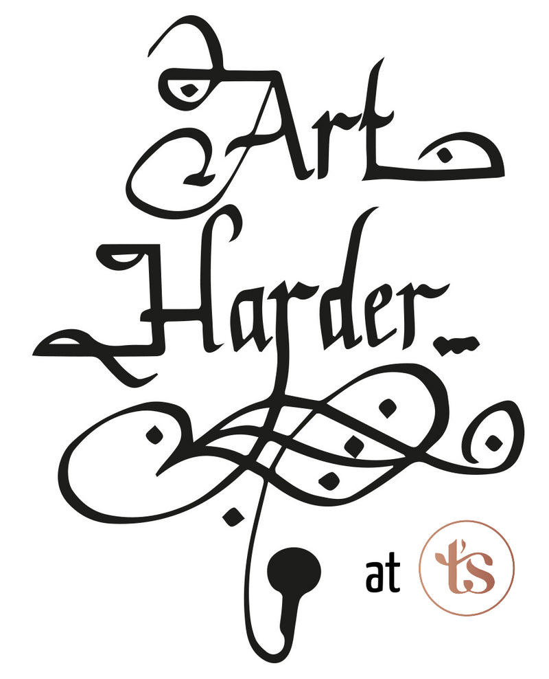 Art Harder - Spoken word (€7,50) | T's Teabar & Loose Leaf Tea