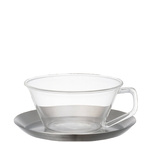 Cast Cup & Saucer | T's Teabar & Loose Leaf Tea