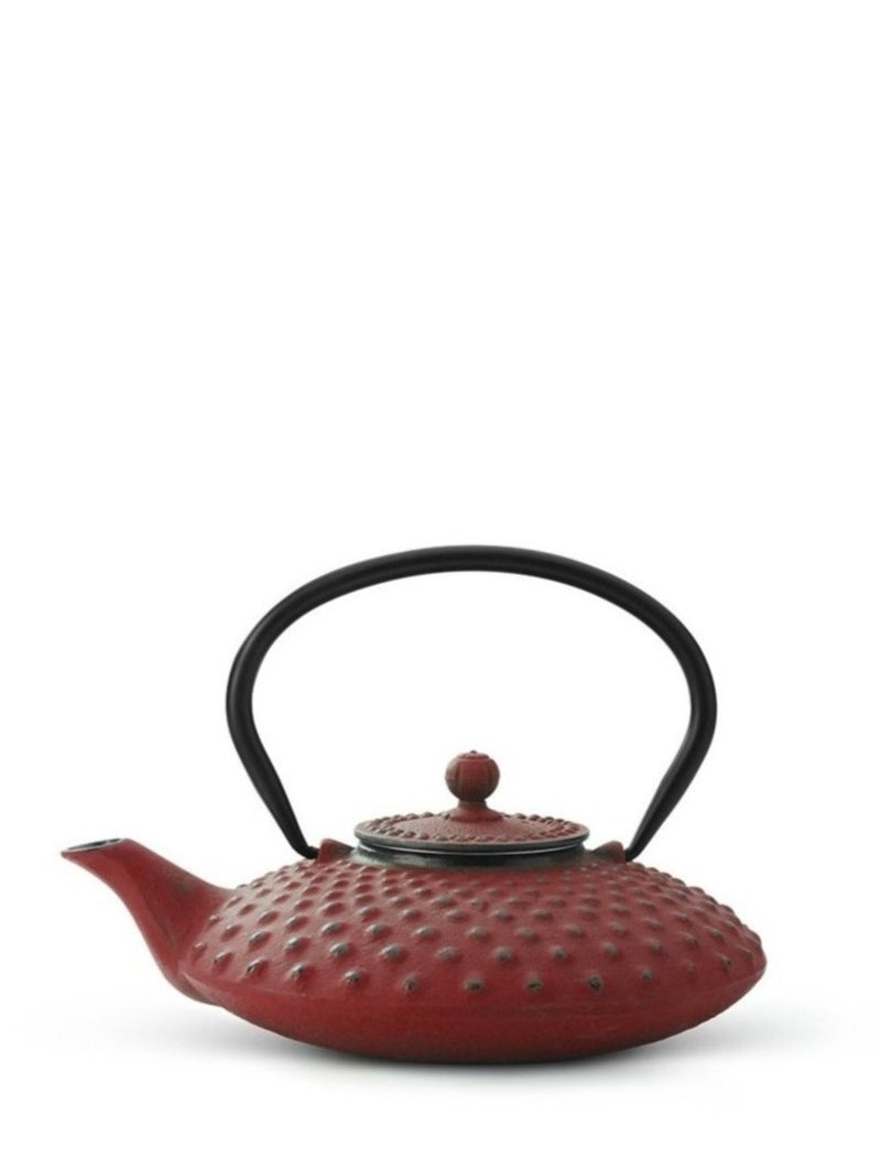 Cast Iron Teapot Xilin Red