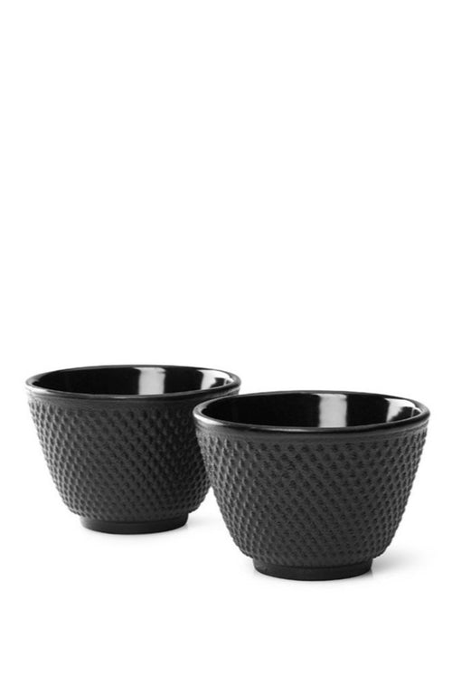 Cast Cup Xilin Iron Black set of 2