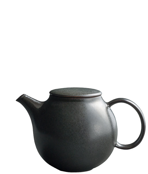 Pebble Teapot Black | T's Teabar & Loose Leaf Tea