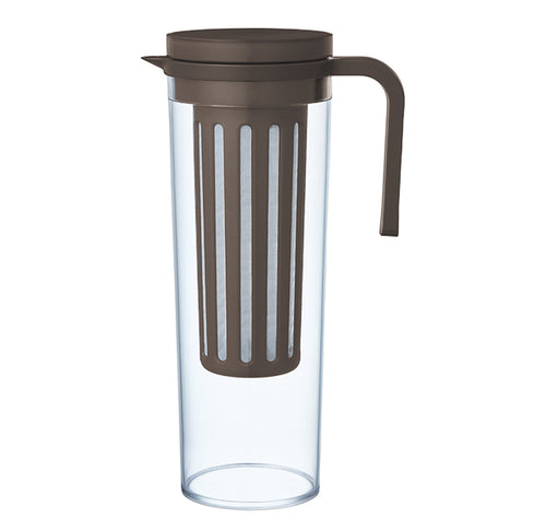 Plug Iced Tea Jug Dark Brown | T's Teabar & Loose Leaf Tea