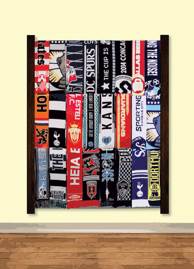 Nou Soccer Scarf Display Rack