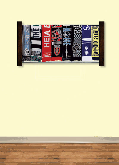 Siro Soccer Scarf Display Rack