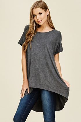 Hi Low Loose Fit Top