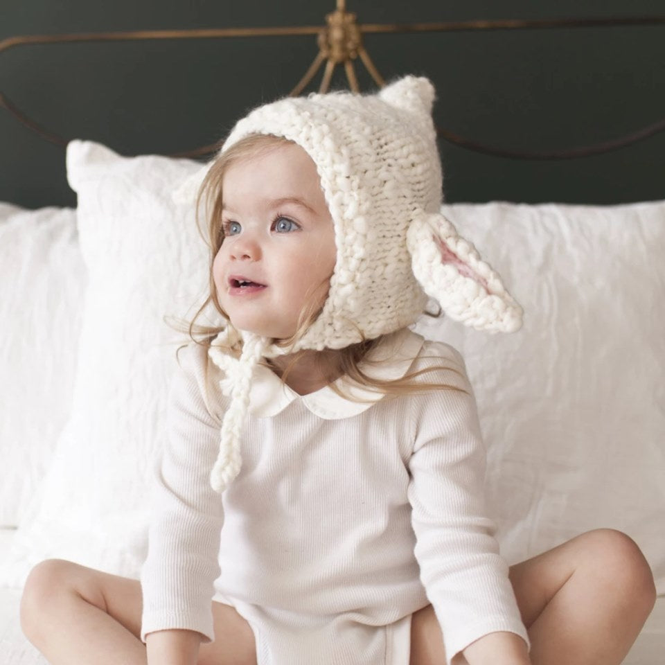 Mary Lamb Knit Hat