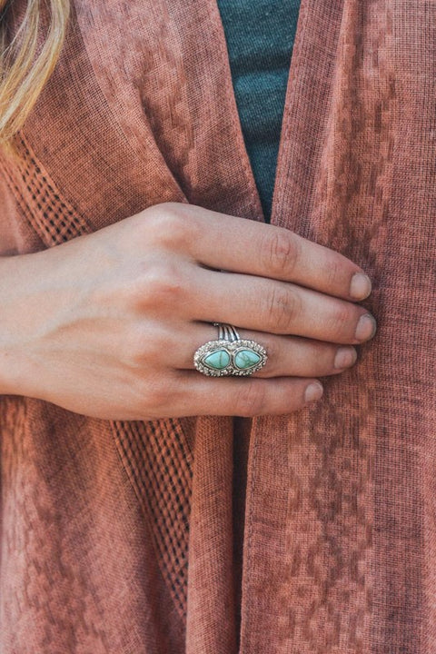 Double Candelaria Stone Ring