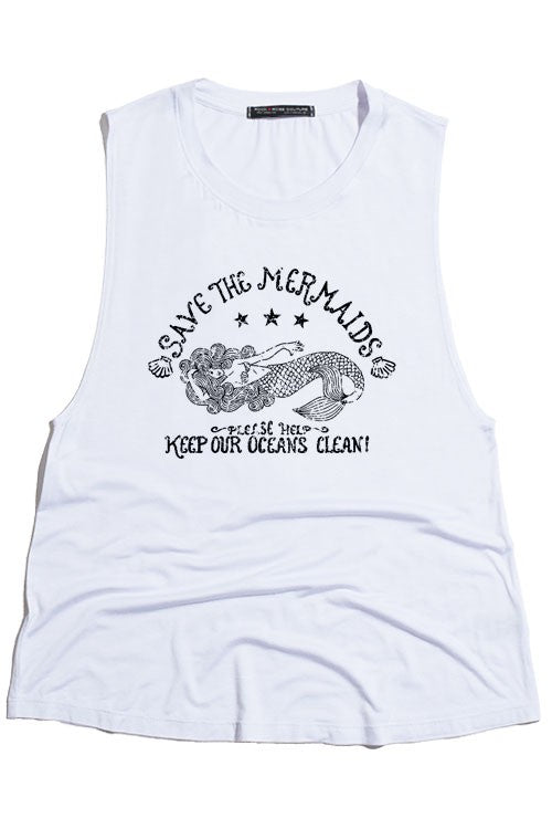 Save The Mermaids Tank