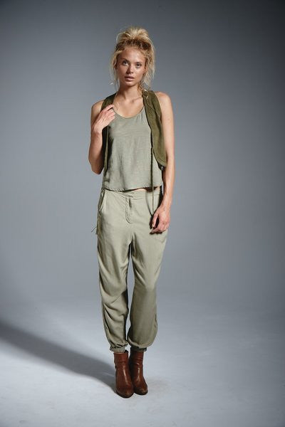 Rowie Zimmie Pants - Olive