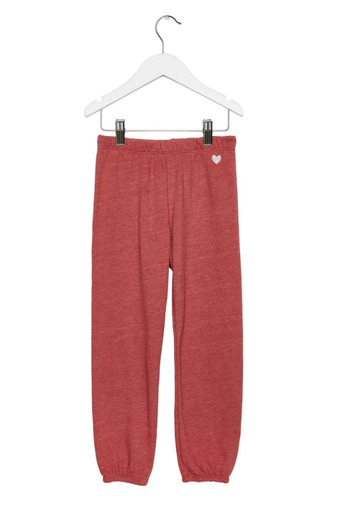 Our Heart Embroidered Kids Sweatpant