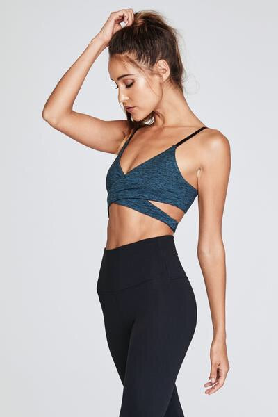 Spiritual Gangster Wrap Bra Atlantic