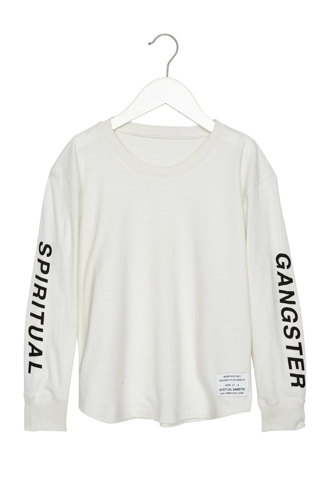 Kids Oblique Long Sleeve Tee