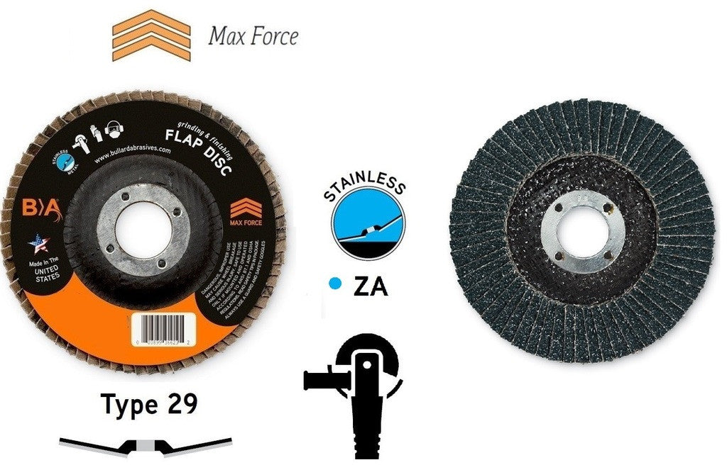 7 Quot T29 Flap Discs All Metals 36728 Tms Hardware