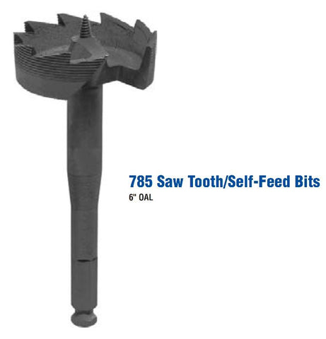 "2-1/4"" x 7/16"" QC Shank 