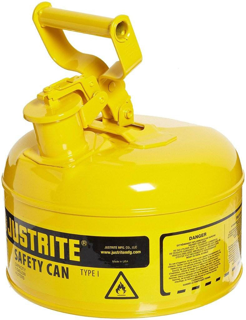 Justrite 7110200 Type I Steel Safety Can Tms Hardware