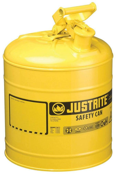 Justrite 7150200 Type I Safety Can, 5 Gallon