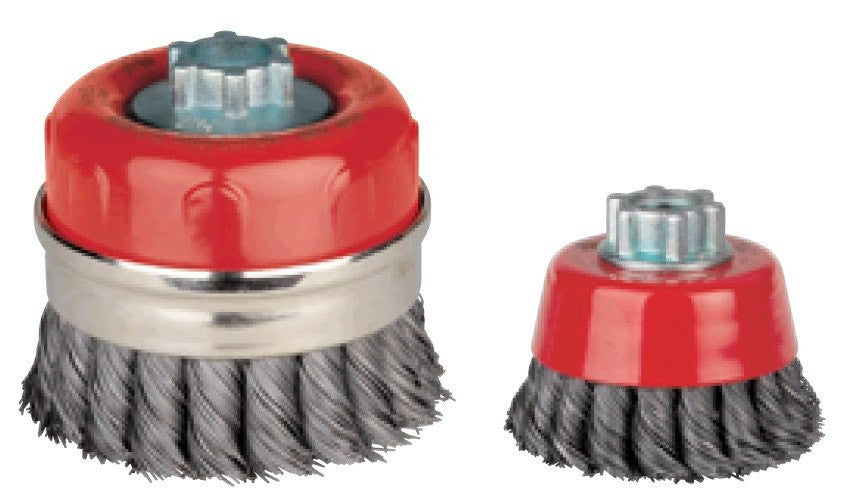 Jaz 72052 Cup Brush 2 3 4 Quot Twist Knot Cup Wire Wheel 0 020