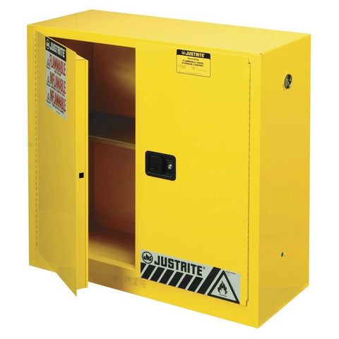 Justrite 893000 Safety Cabinet, 30 gallon