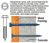 "3/16 X 4"" Flat Head Phillips 