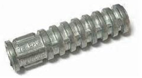 "1/2 X 3"" Lag Screw Shield Anchors"