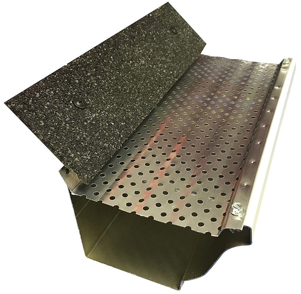 "Shur-Flo Leaf Guard Gutter Cover | 5"" Gutters 