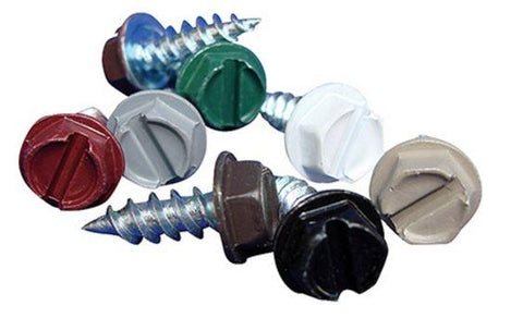 "#8 x 1/2"" Painted Screw 