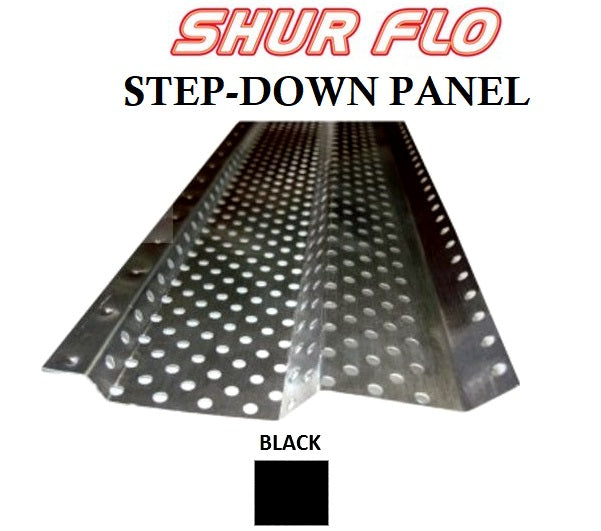 5 Quot Shur Flo Step Down Gutter Leaf Guard 200 Feet