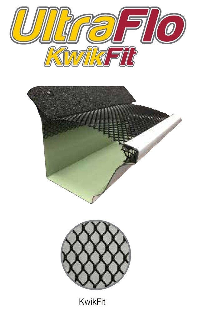 6 Quot Kwik Fit Gutter Leaf Guard 100 Feet Small Hole