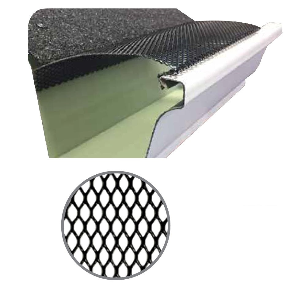 5 Quot Ultra Flo Gutter Leaf Guard Micromesh 100 Feet
