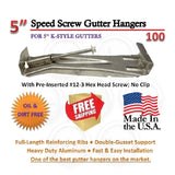 "5"" Speed-Screw Gutter Hanger 