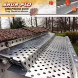"Shur-Flo Leaf Guard Gutter Cover | 6"" Gutters 