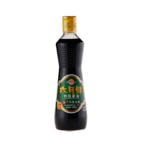 六月鲜特级酱油 500ml/cs Shinho Juni premium soy sauce