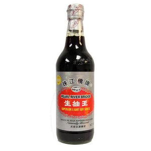 珠江桥牌生抽王 500ml PRB light soy sauce 10%off