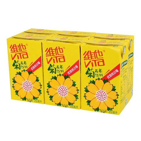 维他菊花茶 6盒装 250ml*6 vita Chrysanthemum tea 6 pc