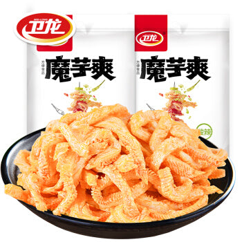 卫龙 魔芋爽 220g/cs WL Spicy Cooked Sliced Konjac