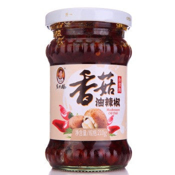 老干妈香菇油辣椒 210g LGM Mushrooms chili sauce