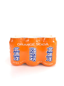 北冰洋橙汁330ml*6 Soda Arctic Ocean- Orange Soda